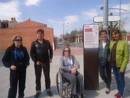 Celia Romero, Enrique Varela, Begoña Aguilar, Susana Aznar y Nuria mendoza